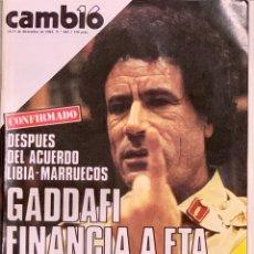 Coleccionismo de Revista Cambio 16: CAMBIO16. Nº 682. 24 DICIEMBRE 1984.. Lote 211693456