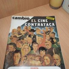 Coleccionismo de Revista Cambio 16: REVISTA CAMB16 26 OCTUBRE 1980 Nº 464 ESPECIAL EL CINE CONTRATACA POLITICA SOCIEDAD TRANSICIÓN. Lote 212999152