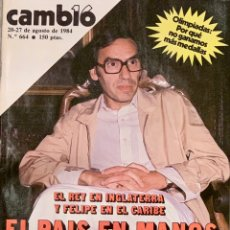 Coleccionismo de Revista Cambio 16: CAMBIO16. Nº 664. 20 AGOSTO 1984.. Lote 213098980