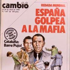 Coleccionismo de Revista Cambio 16: CAMBIO16. Nº 647. 23 ABRIL 1984.. Lote 214510178