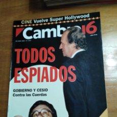 Colecionismo da Revista Cambio 16: REVISTA CAMBIO 16 - Nº 1231 - JUNIO 1995 - TODOS ESPIADOS, GOBIERNO Y CESID, CONTRA LAS CUERDAS. Lote 214641885