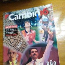 Collectionnisme de Magazine Cambio 16: REVISTA CAMBIO 16 - Nº 1259 - ENERO 1996 - EL AÑO DECISIVO, ENTRV. A GARCÍA MÁRQUEZ. Lote 214652901