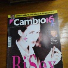 Colecionismo da Revista Cambio 16: REVISTA CAMBIO 16 - Nº 1275 - ABRIL 1996 - BI SEX - EL TERCER SEXO, ÚLTIMO TABÚ DEL MILENIO. Lote 214666313