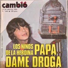 Coleccionismo de Revista Cambio 16: CAMBIO16. Nº 644. 2 ABRIL 1984.. Lote 214729527