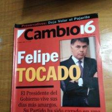 Collectionnisme de Magazine Cambio 16: REVISTA CAMBIO 16 - Nº 1115 ABRIL 1993 - FELIPE TOCADO - RESACA FRANCESA: LA DERECHA ESPAÑOLA SACA. Lote 214743702