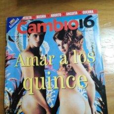 Collectionnisme de Magazine Cambio 16: REVISTA CAMBIO 16 - Nº 1122 MAYO 1993 - JESÚS GIL Y SUS EXTRAÑOS AMIGOS DE LA MAFIA. Lote 214748122