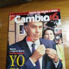 Collectionnisme de Magazine Cambio 16: REVISTA CAMBIO 16 - Nº 1125 JUNIO 1993 - BORRÓN Y CUENTA NUEVA - YO SIGO - FELIPE GONZÁLEZ. Lote 214776867