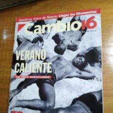 Collectionnisme de Magazine Cambio 16: REVISTA CAMBIO 16 - Nº 1127 JUNIO 1993 - VERANO CALIENTE. Lote 214776978