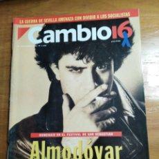 Collectionnisme de Magazine Cambio 16: REVISTA CAMBIO 16 - Nº 1140 SEPTIEMBRE 1993 - ALMODÓVAR DE LA MANCHA. Lote 214779950