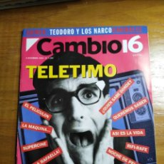 Collectionnisme de Magazine Cambio 16: REVISTA CAMBIO 16 - Nº 1150 DICIEMBRE 1993 - TELETIMO : ABUSAN DE LA PUBLICIDAD. Lote 214781442