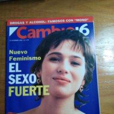 Collectionnisme de Magazine Cambio 16: REVISTA CAMBIO 16 - Nº 1153 DICIEMBRE 1993 - NUEVO FEMINISMO : EL SEXO FUERTE (ARIADNA GIL). Lote 214781690