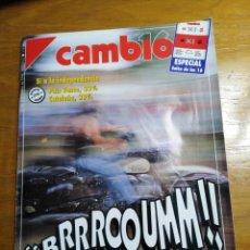 Collezionismo di Rivista Cambio 16: REVISTA CAMBIO 16 - Nº 1035 SEPTIEMBRE 1991 - AMOR Y ODIO POR LAS MOTOS. Lote 214836515