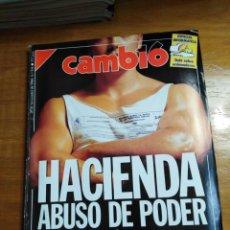 Colecionismo da Revista Cambio 16: REVISTA CAMBIO 16 - Nº 938 NOVIEMBRE 1989 - HACIENDA : ABUSO DE PODER - LOBBIES: LOS QUE MANDAN EN L. Lote 215073565
