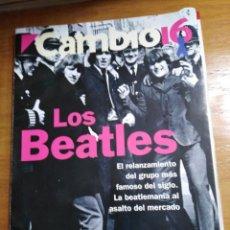 Colecionismo da Revista Cambio 16: REVISTA CAMBIO 16 - Nº 1138 SEPTIEMBRE 1993 - LOS BEATLES. Lote 215092317