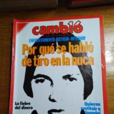 Colecionismo da Revista Cambio 16: REVISTA CAMBIO 16 Nº 819 AGOSTO 1987 - ENFRENTAMIENTO JUSTICIA-INTERIOR. Lote 215335991