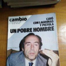Colecionismo da Revista Cambio 16: REVISTA CAMBIO 16 Nº 649 MAYO 1984 - ESPECIAL MODA 84 - VARGAS LLOSA. Lote 216450935