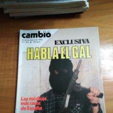 Collectionnisme de Magazine Cambio 16: REVISTA CAMBIO 16 Nº 651 MAYO 1984 - HABLA AL GAL - JULIO IGLESIAS. Lote 216452845