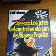 Collectionnisme de Magazine Cambio 16: REVISTA CAMBIO 16 Nº 672 OCTUBRE 1984 - ASTURIAS 1934 - JOSÉ CARRERAS- BERLANGA. Lote 216493361