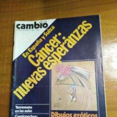 Coleccionismo de Revista Cambio 16: REVISTA CAMBIO 16 Nº 426 FEBRERO DE 1980 - BENJAMÍN PALENCIA - YUGOSLAVIA- TERREMOTO EN LAS AULAS. Lote 216692602