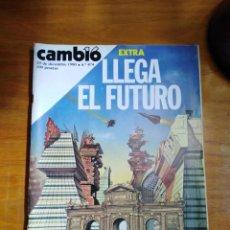 Colecionismo da Revista Cambio 16: REVISTA CAMBIO 16 Nº 474 DICIEMBRE 1980 - EXTRA: LLEGA EL FUTURO - ESPECIAL AUTOMÓVIL DE LOS 80. Lote 216802922