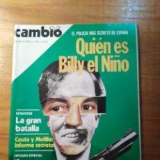Coleccionismo de Revista Cambio 16: REVISTA CAMBIO 16 Nº 395 JULIO 1979 - QUIÉN ES BILLY EL NIÑO - JORGE GUILLÉN - ESTATUTOS, LA GRAN BA. Lote 218099602