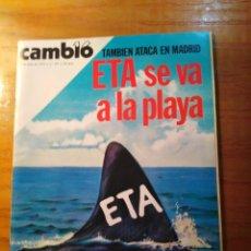 Coleccionismo de Revista Cambio 16: REVISTA CAMBIO 16 Nº 397 JULIO 1979 - ETA TAMBIÉN ATACA EN MADRID - VALDEPEÑAS: AGUA MORTAL. Lote 218116042