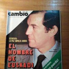 Coleccionismo de Revista Cambio 16: REVISTA CAMBIO 16 Nº 399 JULIO 1979 - CARLOS GARAICOECHEA - ANTONIO ORDÓÑEZ. Lote 218117698
