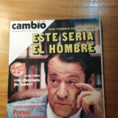 Coleccionismo de Revista Cambio 16: REVISTA CAMBIO 16 Nº 401 AGOSTO 1979 - VILLAJOYOSA - CARAS AL SOL - FRANCISCO DE ASÍS PASTOR. Lote 218118251