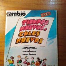 Coleccionismo de Revista Cambio 16: REVISTA CAMBIO 16 Nº 407 SEPTIEMBRE 1979 - ESPECIAL : TIEMPOS NUEVOS- JOYERÍA BAGUÉS. Lote 218128211