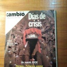 Coleccionismo de Revista Cambio 16: REVISTA CAMBIO 16 Nº 409 OCTUBRE 1979 - ALICIA ALONSO - FUNERAL POR EL GOBERNADOR MILITAR DE GUIPUZC. Lote 218135511