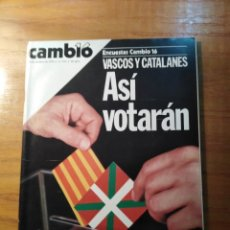 Coleccionismo de Revista Cambio 16: REVISTA CAMBIO 16 Nº 412 OCTUBRE 1979 - DANIEL BARENBOIM - EXCLUSIVA : 19 PICASSOS INÉDITOS. Lote 218138601
