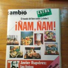 Coleccionismo de Revista Cambio 16: REVISTA CAMBIO 16 Nº 418 DICIEMBRE 1979 - EXTRA , ÑAM, ÑAM - JAVIER RUPÉREZ. Lote 218180880