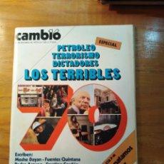 Coleccionismo de Revista Cambio 16: REVISTA CAMBIO 16 Nº 421 DICIEMBRE 1979 - ESPECIAL: PETROLEO, TERRORISMO, DICTADORES - HABLA ETA. Lote 218184111