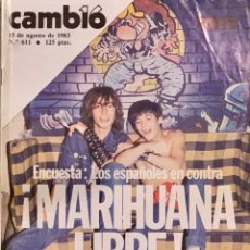Coleccionismo de Revista Cambio 16: CAMBIO16. Nº 611. 15 AGOSTO 1983.. Lote 218502617