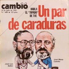 Coleccionismo de Revista Cambio 16: CAMBIO16. Nº 608. 25 JULIO 1983.. Lote 218801257