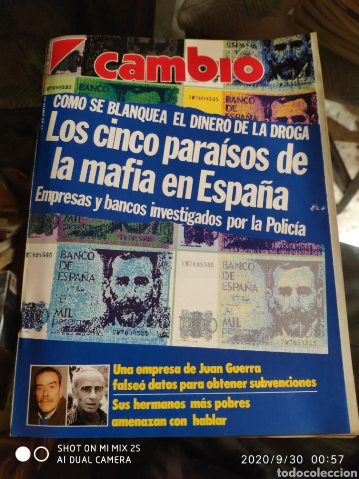 REVISTA CAMBIO 16 N° 956 (19 MARZO 1990) (Coleccionismo - Revistas y Periódicos Modernos (a partir de 1.940) - Revista Cambio 16)