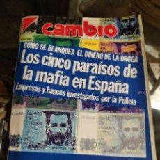 Coleccionismo de Revista Cambio 16: REVISTA CAMBIO 16 N° 956 (19 MARZO 1990). Lote 277271303