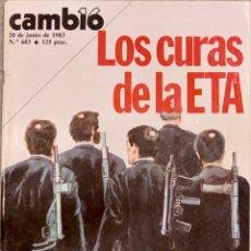 Coleccionismo de Revista Cambio 16: CAMBIO16. Nº 603. 20 JUNIO 1983.. Lote 219295753