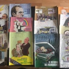 Coleccionismo de Revista Cambio 16: LOTE DE 12 REVISTAS DE CAMBIO 16 DE LOS AÑOS 1983 Y 1984. Lote 219707803