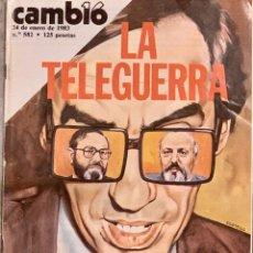 Coleccionismo de Revista Cambio 16: CAMBIO16. Nº 582. 24 ENERO 1983.. Lote 221944838