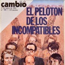 Coleccionismo de Revista Cambio 16: CAMBIO16. Nº 581. 17 ENERO 1983.. Lote 222067470