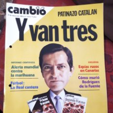 Coleccionismo de Revista Cambio 16: REVISTA CAMBIO 16 N° 434. Lote 222194475