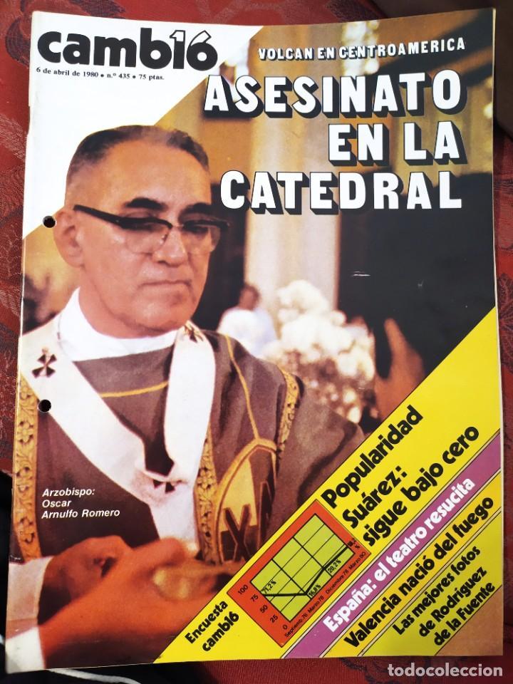 REVISTA CAMBIO 16 N° 435 (Coleccionismo - Revistas y Periódicos Modernos (a partir de 1.940) - Revista Cambio 16)