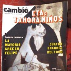 Coleccionismo de Revista Cambio 16: REVISTA CAMBIO 16 N° 436. Lote 222194726