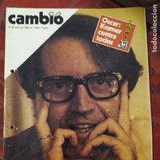 Coleccionismo de Revista Cambio 16: REVISTA CAMBIO 16 N° 438. Lote 222194897