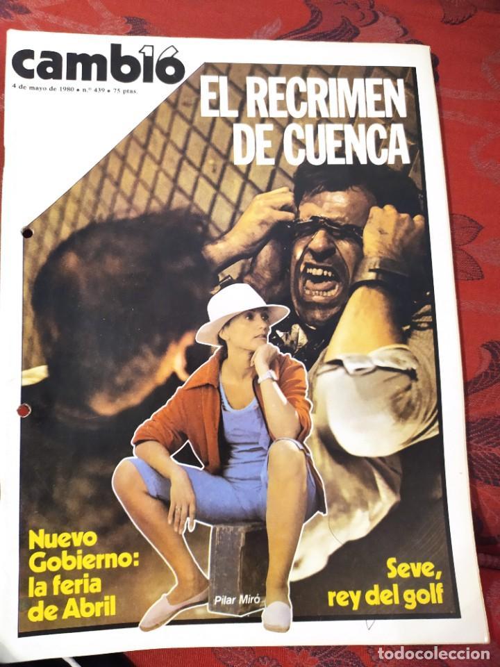 REVISTA CAMBIO 16 N° 439 (Coleccionismo - Revistas y Periódicos Modernos (a partir de 1.940) - Revista Cambio 16)