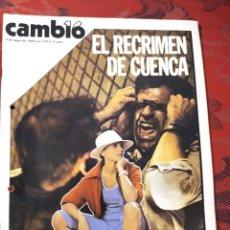 Coleccionismo de Revista Cambio 16: REVISTA CAMBIO 16 N° 439. Lote 222194952