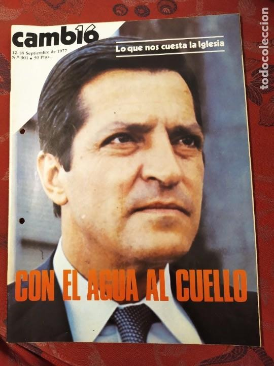 REVISTA CAMBIO 16 N° 301 EL GRITO DE EUSKADI (Coleccionismo - Revistas y Periódicos Modernos (a partir de 1.940) - Revista Cambio 16)