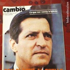 Coleccionismo de Revista Cambio 16: REVISTA CAMBIO 16 N° 301 EL GRITO DE EUSKADI. Lote 222195767
