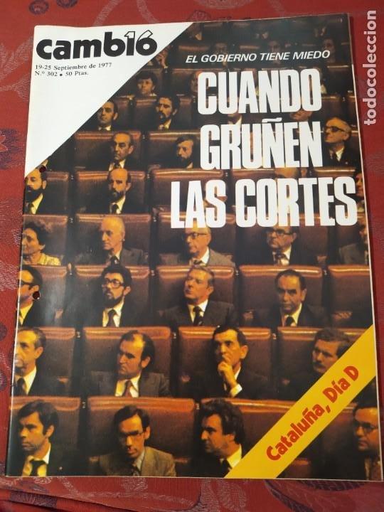 REVISTA CAMBIO 16 N° 302 (Coleccionismo - Revistas y Periódicos Modernos (a partir de 1.940) - Revista Cambio 16)